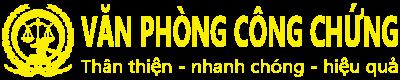 Logo văn phòng công chứng